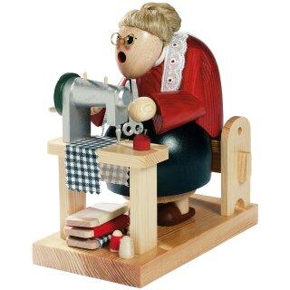 KWO Smoker seamstress sitting