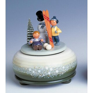 KWO music box with ski small