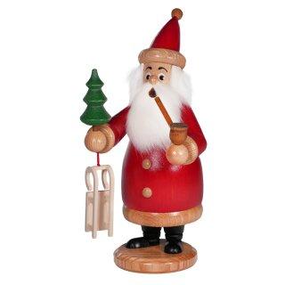 DWU Räuchermann Weihnachtsmann rot