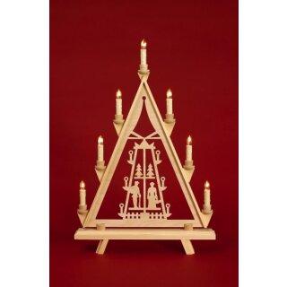 Baumann candle arch triangle motif pyramid