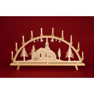 Baumann candle arch motif church