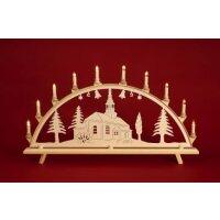 Baumann candle arch motif church