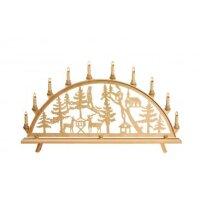Baumann candle arch motif forest