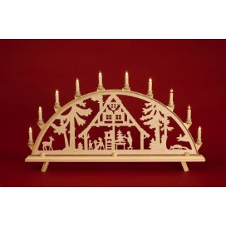 Baumann candle arch motif before Christmas