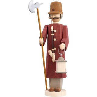 Smoker night watchman of Seiffen folk art eG