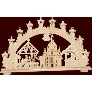 """Saico candle arch 3-D arch """"Dresdner Striezelmarkt"""""""