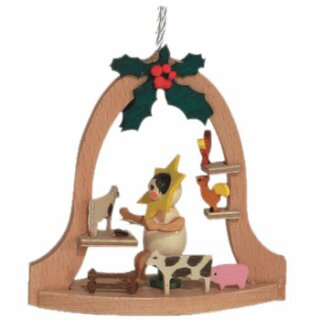 Kuhnert tree decoration star kids with animals