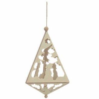 Tree decoration pyramid medium