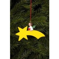 Christian Ulbricht tree decoration angel on comet