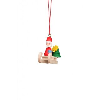 Christian Ulbricht tree decoration nicholas on sled
