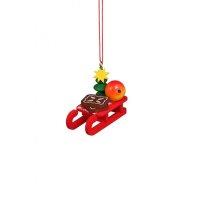 Christian Ulbricht tree decoration christmas sled