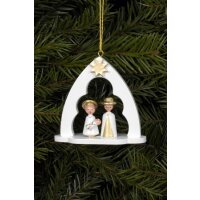 Christian Ulbricht tree decoration Holy family in the bow...