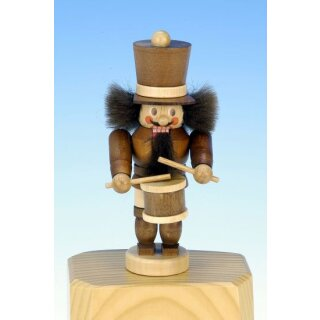 Christian Ulbricht nutcracker mini drummer nature