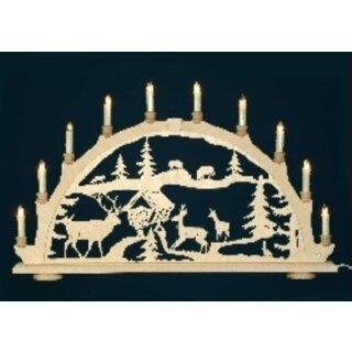 candle arch feeding site