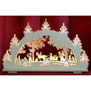 candle arch fairy tale forest 2D