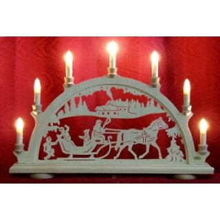 candle arch sleigh ride
