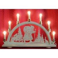 candle arch Santa Claus