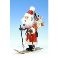Christian Ulbricht Smoker Santa Claus on skis