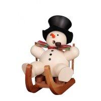 Christian Ulbricht smoker snowman on sled