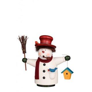 """Christian Ulbricht Smoker """"Borzel"""" snowman"""