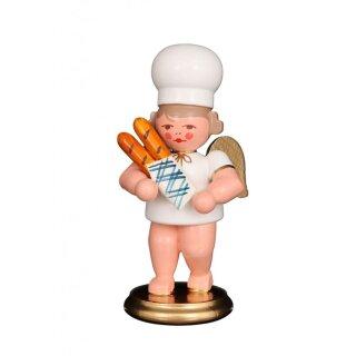 Christian Ulbricht baker angel with baguette