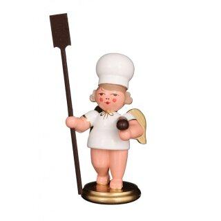 Christian Ulbricht baker angel with bread slide