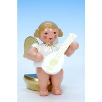 Christian Ulbricht music angel sitting with lute