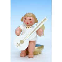 Christian Ulbricht music angel sitting with guitar