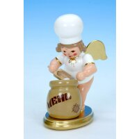 Christian Ulbricht baker angel with flour bag