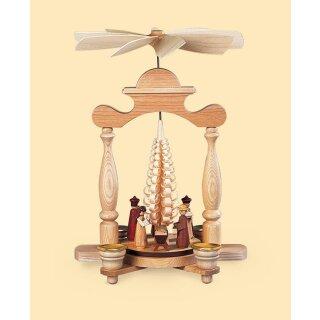 Müller Säulenpyramide Christi Geburt mit Spanbaum