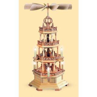 Müller Pyramide Waldmotiv 3-stöckig, elektrisch