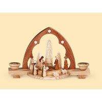 Müller candle arch Christi nativity - triangle arch