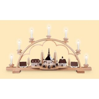 Müller candle arch village of Seiffen