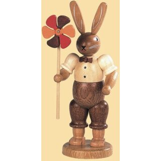 Müller rabbit man with windmill small