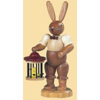 Müller rabbit with birdcage small
