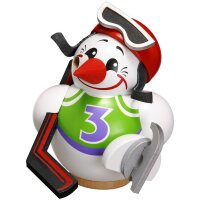 Chubby Smoker Cool-Man Hockey Player