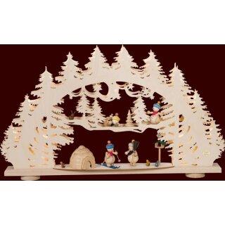 Saico candle arch 3D arch snowman