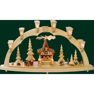 Richard Gläser candle arch christmas forest with Advent...