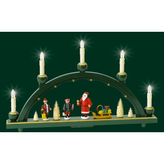 Richard Gläser candle arch Santa Claus