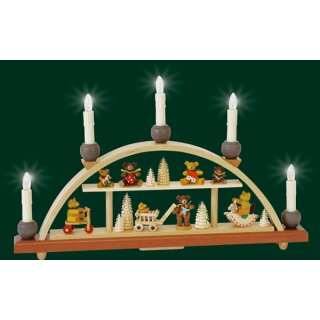 Richard Gläser candle arch bear children