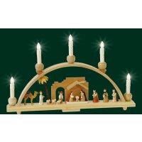 Richard Gläser candle arch Christi nativity