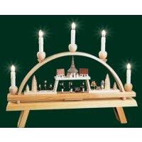 Richard Gläser candle arch church village of Seiffen