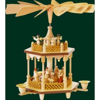 Richard Glässer pyramid Christi nativity