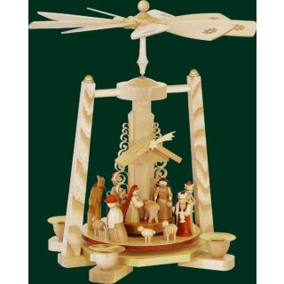 Richard Glässer pyramid Christi nativity