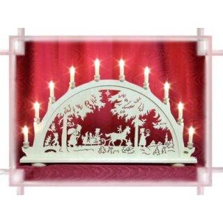 Schwibbogen Weihnachtswald