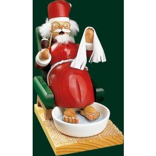 Richard Glässer Weihnachtsmann mit Fußbad