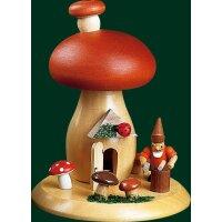 Richard Gläser smoke mushroom dwarf with hammer