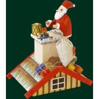Richard Glässer Rauchhaus mit Santa