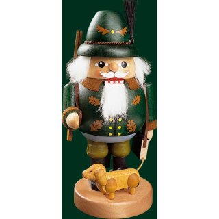 Richard Glässer nutcracker ranger with dachshund