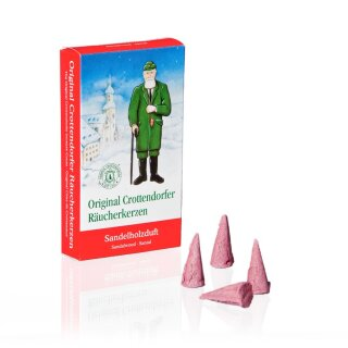 Incense cones sandel